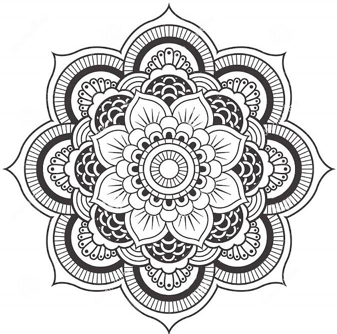 lotus-flower-mandala-coloring-pages
