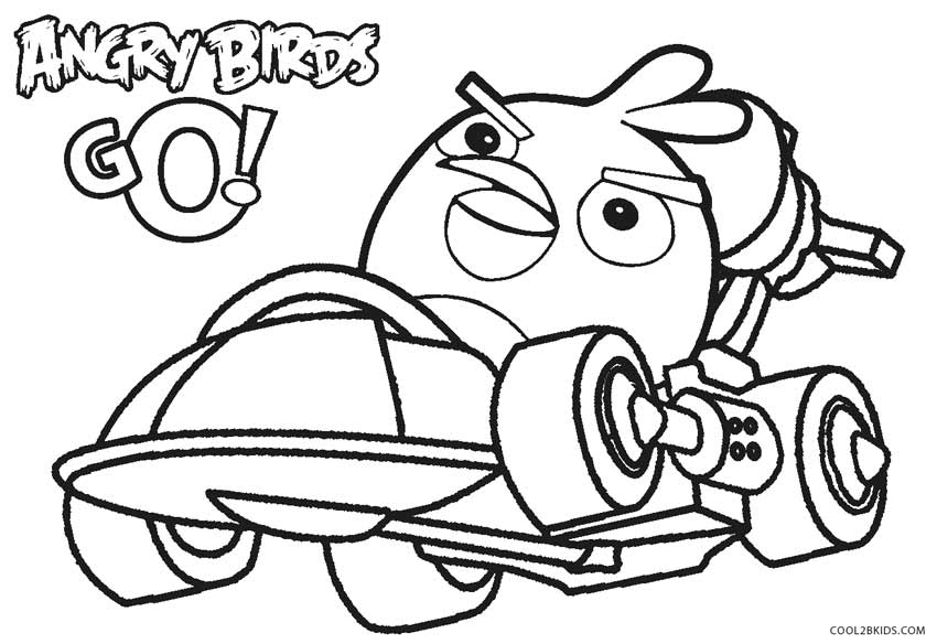 Angry-Birds-Go-Coloring-Pages