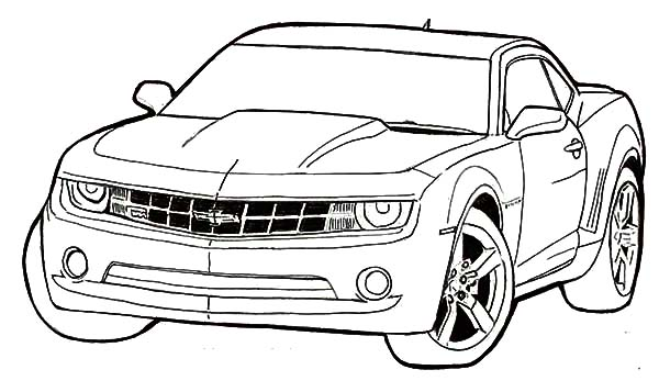 Chevrolet Car Coloring Pages