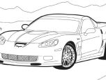Corvette Stingray Coloring Pages