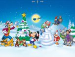 disney xmas coloring pages