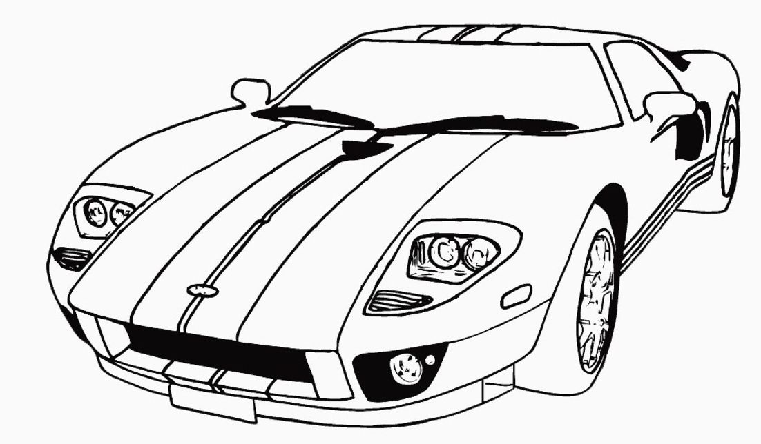 Printable-Car-Coloring-Pages
