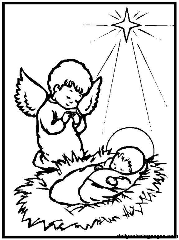 online baby coloring pages - photo#11