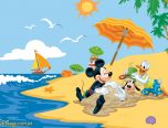 disney summer coloring page
