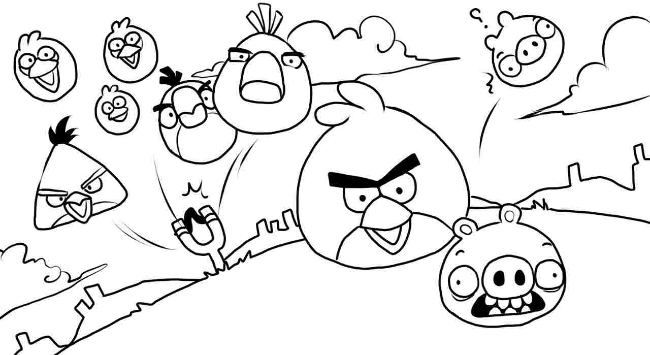 Angry Birds Coloring Pages | Free Printable Online Angry ...