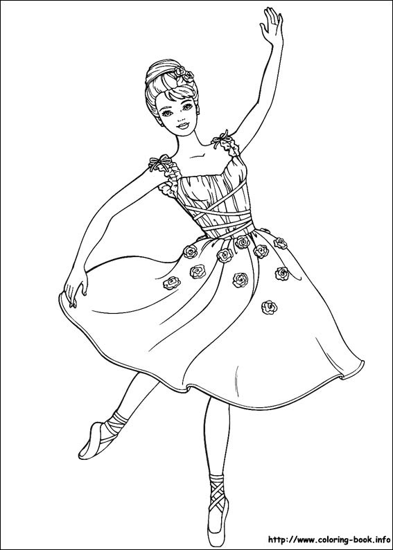 Barbie Coloring Pages 02