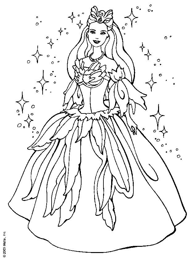 Barbie Coloring Pages 03