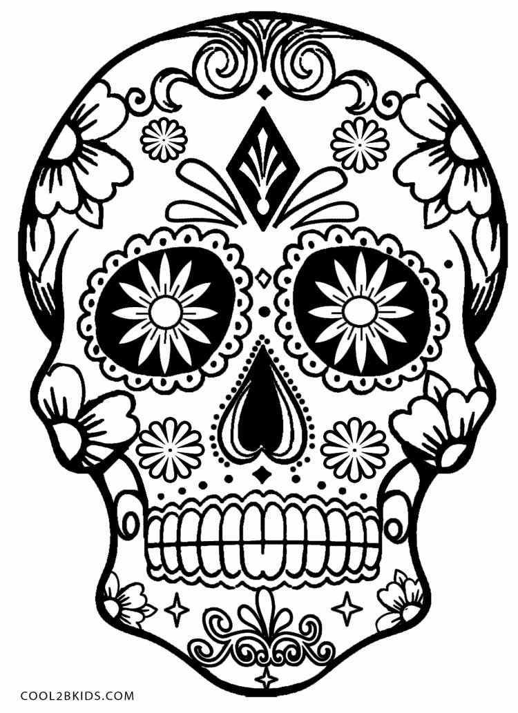 skull coloring pages 01