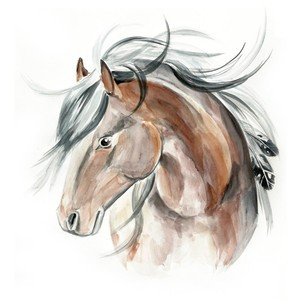 Free Printable Realistic Horse Coloring Pages