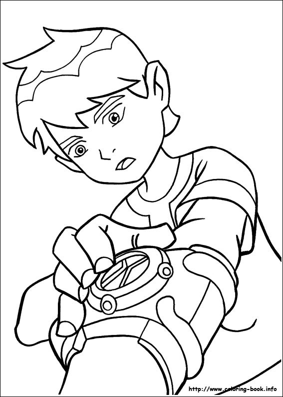 Ben10 Coloring Pages 01