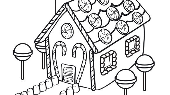 coloring-pages-gingerbread-man-house