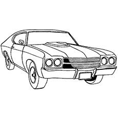 Car Coloring Pages 01