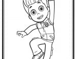 Paw Patrol Ryder Coloring Pages