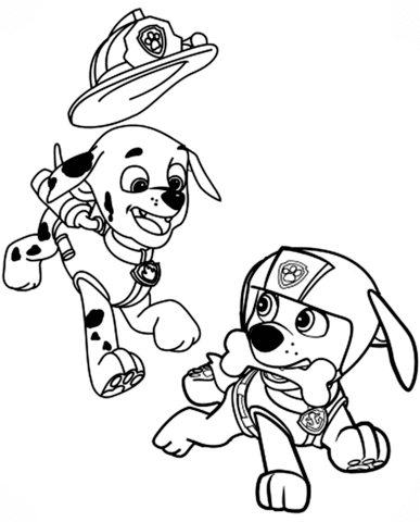 paw patrol coloring pages | free coloring pages printable
