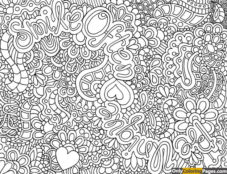 Hard Coloring Pages Difficult