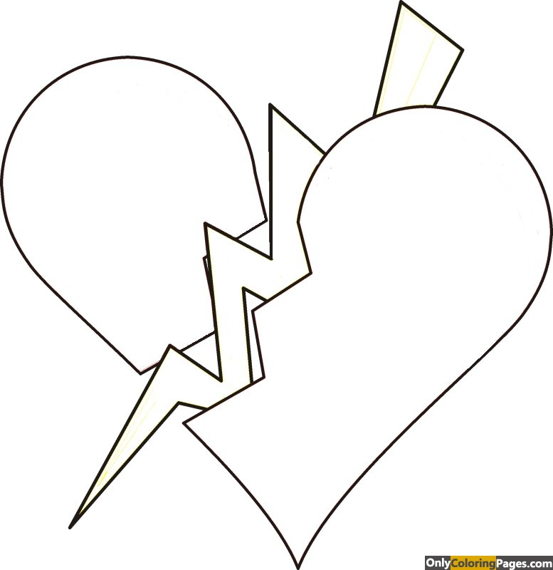 broken-heart-coloring-pages-for-teenagers
