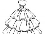 clothes coloring pages for adults