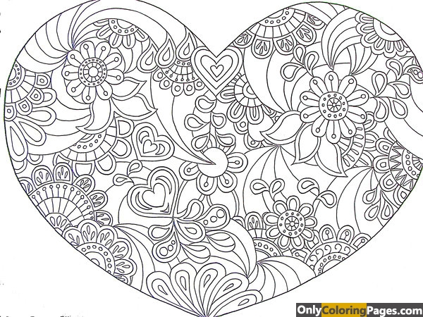 geometric-heart-coloring-pages-1