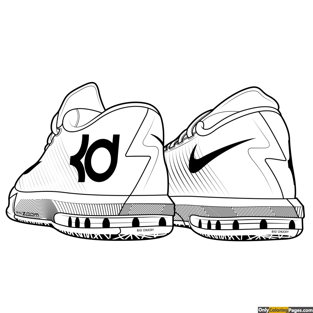 kevin durant coloring pages