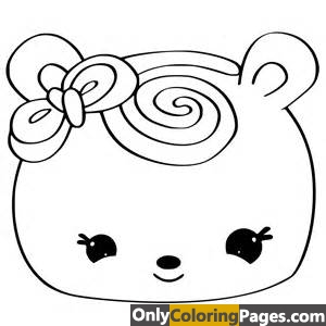 Num Noms Coloring Pages Only Coloring Pages