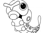 pokemon coloring pages caterpie