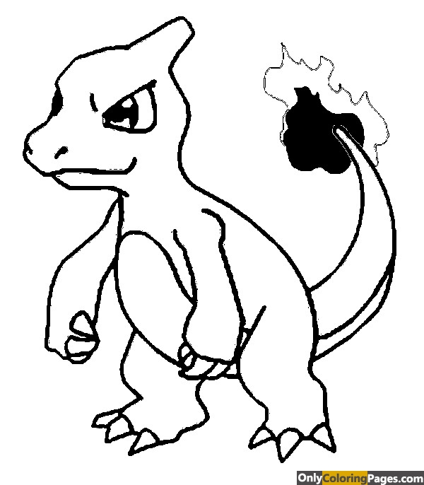 pokemon-coloring-pages-charmeleon