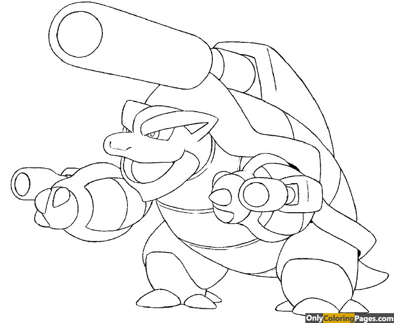 pokemon-coloring-pages-mega-blastoise