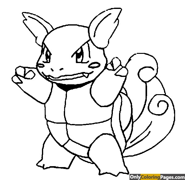 pokemon-coloring-pages-wartortle