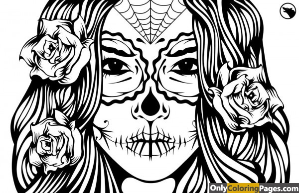 sugar-skull-girl-coloring-pages-print