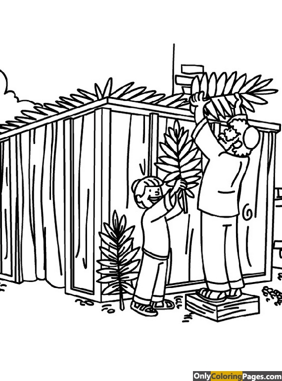 feast of tabernacles coloring pages