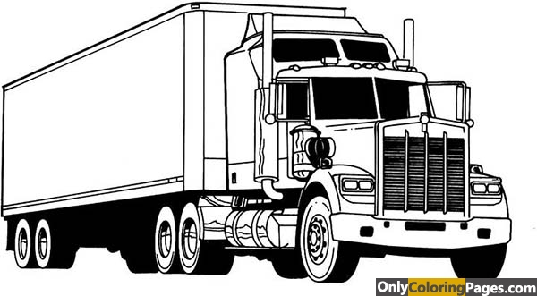 kenworth-coloring-pages