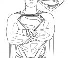 man of steel logo coloring pages