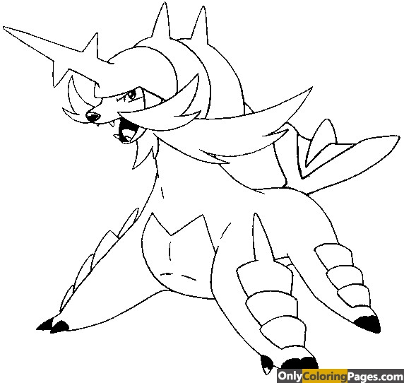 samurott coloring pages