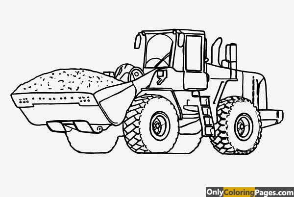 Tractor Coloring Pages Free Printable Online Tractor