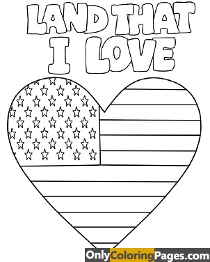 usa independence day coloring pages