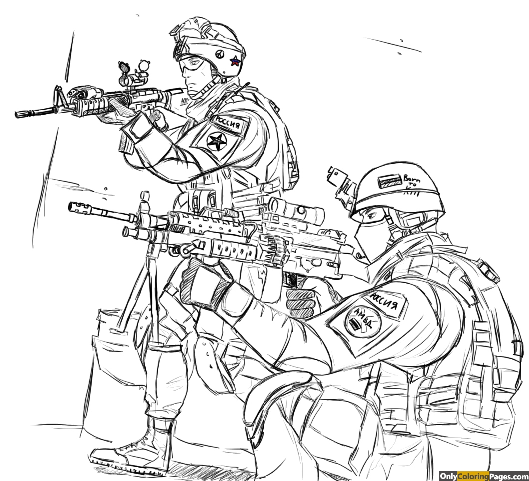 coloring pages of army soldiers - army soldier coloring pages free printable online army
