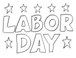 free labor day coloring pages for kids