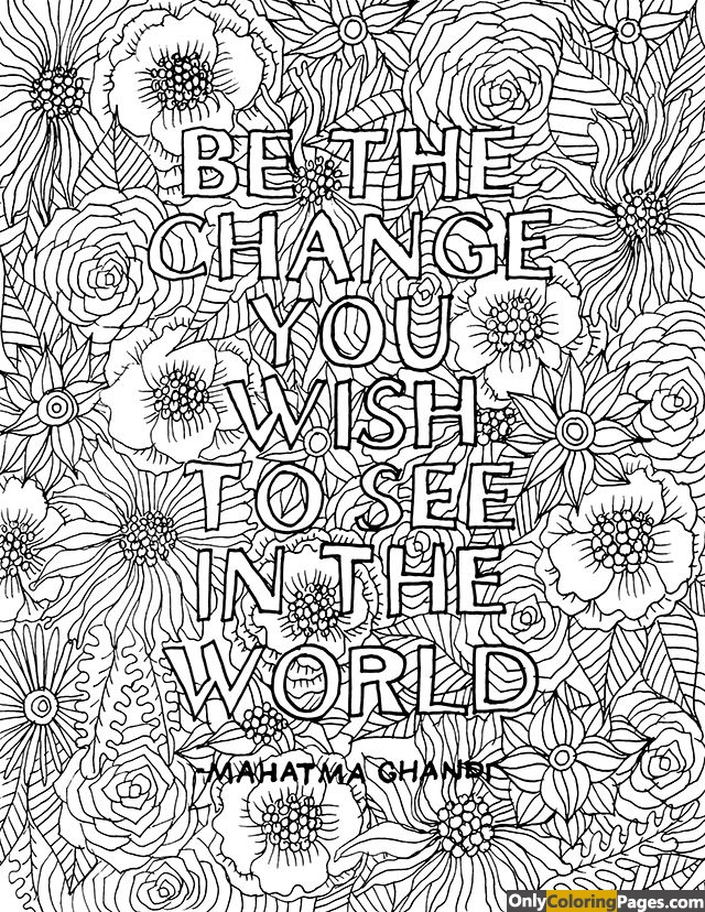 mahatma ghandi coloring pages