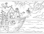 noah's ark coloring pages