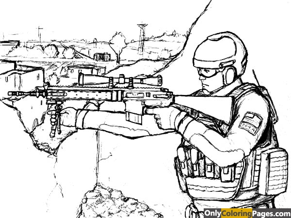 Us army coloring pages free printable online us army for Ww2 coloring pages soldiers