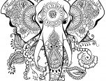 Best Elephant Mandala Coloring