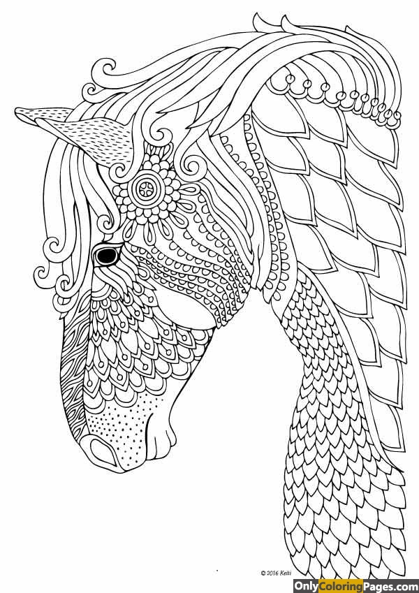 Nature Coloring Pages Zen