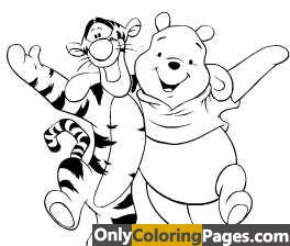 tigger, tiger, pooh, pages, colouring, coloringpages, coloringbook, coloring