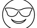 Emoji Coloring Pages Cool 152x116