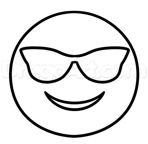 Emoji Coloring Pages Cool