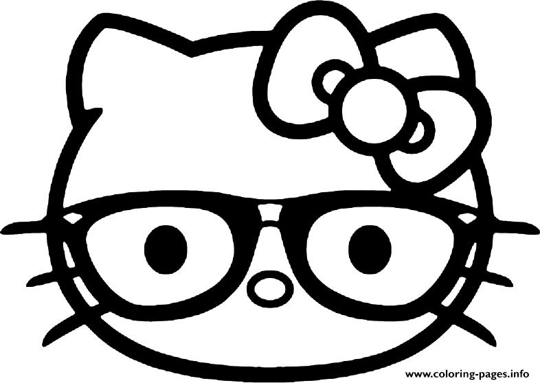 Emoji Coloring Pages Hello Kitty