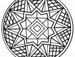 Kaleidoscope-Coloring-Pages-Easy-152x116