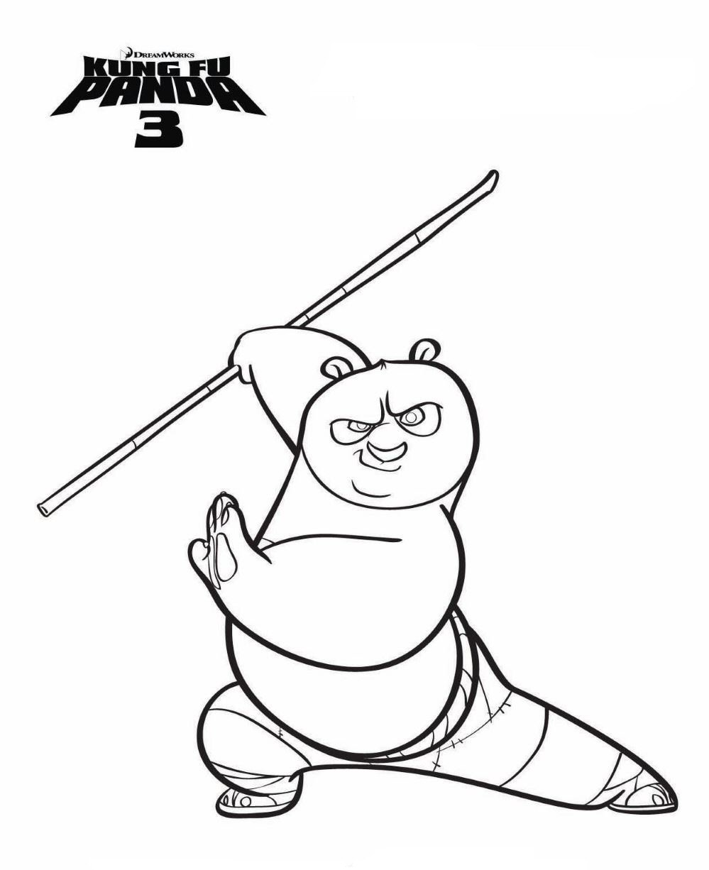 Kung fu panda 3 coloring pages printable only coloring pages for Kung fu panda printable coloring pages
