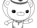 Octonauts Captain Barnacles Coloring Pages 152x116