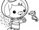 Octonauts Coloring Pages Print 152x116